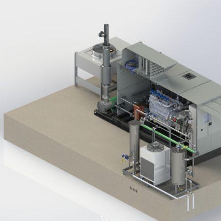 Cogeneratori a Metano